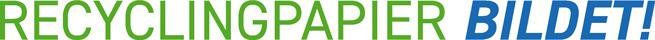 Logo Recyclingpapier bildet